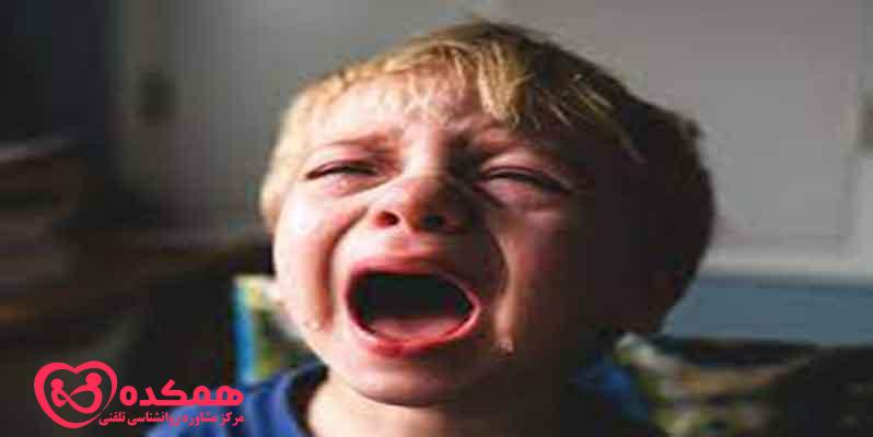 What are the short-term and long-term psychological effects of shouting on a child
